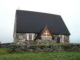 Vammala - St. Olaf's Church in Tyrvää, near Vammala.