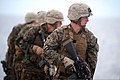U.S. Marines with Fleet Anti-Terrorism Security Team Pacific (FASTPAC) conduct advanced driven combat drills May 30, 2013, aboard the U.S. 7th Fleet command ship USS Blue Ridge (LCC 19) in the South China Sea 130530-N-QI421-279.jpg