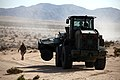 U.S. Marines with Transportation Support Company, Combat Logistics Regiment 2, 2nd Marine Logistics Group, practice vehicle recovery missions during Enhanced Mojave Viper (EMV), on Marine Corps Air Ground Combat 120829-M-KS710-018.jpg