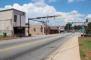Palmetto, Georgia - Downtown Palmetto