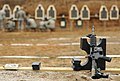 U.S. Soldiers inspect targets after attempting to zero their M4 carbine during the live-fire portion of the 89th Sustainment Brigade's 2013 Best Warrior Competition at Belton, Mo., March 9, 2013 130309-A-ZJ337-002.jpg