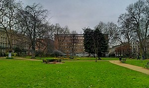 UCL Institute of Archaeology - The Institute as seen from Gordon Square