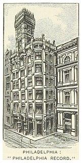 <i>The Philadelphia Record</i> defunct daily newspaper published in Philadelphia, Pennsylvania, United States