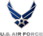 Logo of the US Air Force