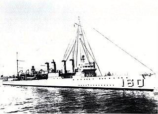 USS <i>Herbert</i> (DD-160) Wickes-class destroyer