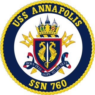 USS <i>Annapolis</i> (SSN-760) Los Angeles-class nuclear-powered attack submarine of the US Navy