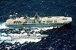 USS Belleau Wood (LHA-3) and USS Reasoner (FF-1063) underway during RIMPAC 1990.jpeg