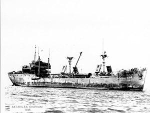 USS Chatham (AK-169) - Image: USS Chatham (AK 169)