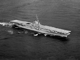 USS Essex (CV-9) - Essex after her SCB-27A modernization.