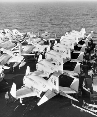 Carrier Air Wing Seventeen - CVW-17aircraft aboard Forrestal, 1974.