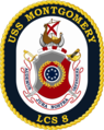 USS Montgomery LCS-8 Crest.png