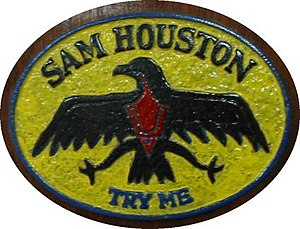 USS Sam Houston (SSBN-609) - Image: USS Sam Houston plaque