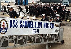 USS Samuel Eliot Morison (FFG-13) - Image: USS Samuel Eliot Morison (FFG 13) transfers to Turkey