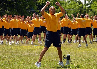 Physical training uniform - Navy sailors wearing the Navy PTU