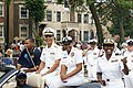US Navy 090808-N-3135N-002 Sailors interact with spectators during the 80th Annual Bud Billiken Back-to-School Parade in Chicago, Ill.jpg