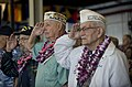 US Navy 091207-N-8623G-201 Pearl Harbor attack survivors salute the colors during a U.S. Navy and National Park Service ceremony commemorating the 68th anniversary of the Dec. 7, 1941 surprise attack on Pearl Harbor.jpg