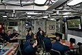 US Navy 110206-N-5474B-001 Crew members aboard USS Ohio (SSN 726) watch Super Bowl XLV while underway.jpg
