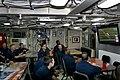 US Navy 110206-N-5474B-001 Crew members aboard USS Ohio (SSN 726) watch Super Bowl XLV while underway.jpg