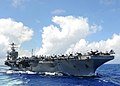 US Navy 110302-N-2937R-224 The Nimitz-class aircraft carrier USS Abraham Lincoln (CVN 72) transits the Pacific Ocean.jpg