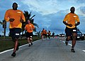 US Navy 110318-N-QY759-045 Sailors assigned to the submarine tender USS Frank Cable (AS 40) participate in the command-sponsored Right Spirit 5K F.jpg