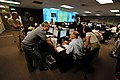 US Navy 110719-N-ZZ999-013 Military and civilian personnel from Navy Region Northwest work in the regional operational command center on Naval Base.jpg