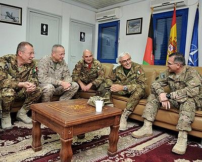 US and Italian commanders in Herat-2011