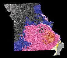 Mo On Us Map.Missouri Wikipedia