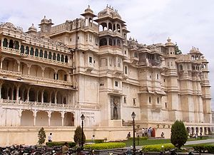 City Palace, Udaipur - Image: Udaipur City Palace
