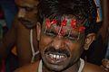 Ujjal Majar - Forehead Pierced Gajan Sannyasi - Bainan - Howrah 2015-04-14 7992.JPG