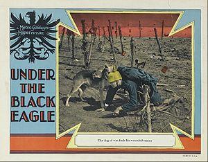 Under the Black Eagle - Lobby card