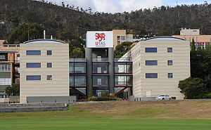 Tasmanian School of Business and Economics - The Centenary Building, home to the School on the Hobart Campus