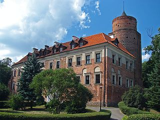 Uniejów Place in Łódź Voivodeship, Poland