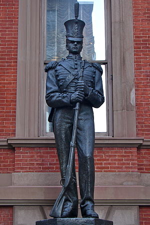 John A. Wilson (sculptor) - Washington Grays Monument, Philadelphia