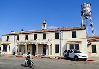 National Register of Historic Places listings in Imperial County, California - Image: United States Inspection Station, Calexico, California