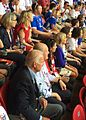 United States delegation at 2015 FIFA Women's World Cup Final in Vancouver 2015-07-05.jpg