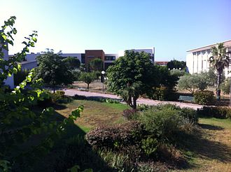 University of Toulon - A view of the campus
