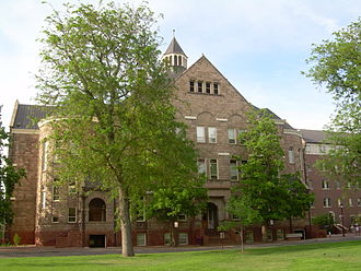 University of Denver - University Hall, built in 1890