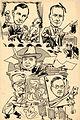 University of Liverpool Medical Students' dinner card cartoon, 1941 (14652168112).jpg