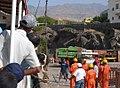 Unloading a cow from a ferry, Porto Novo, Santo Antão, Cabo Verde.jpg