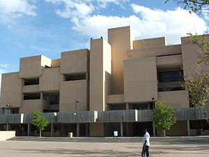 University of New Mexico - Humanities Building, added in 1970