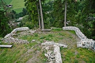 Zweisimmen - Ruins of the Lower Mannenberg Castle