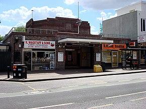 アップミンスター・ブリッジ駅