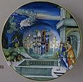 Urbino, nicola da urbino, piatto con ippolito e fedra, 1524 ca.JPG