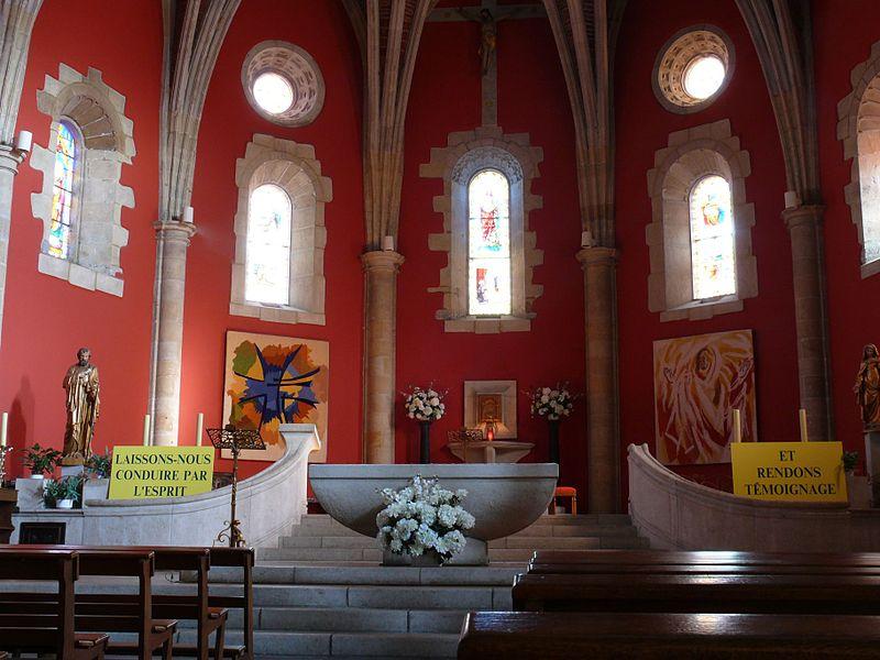 Saint-Vincent's church of Urrugne (Pyrénées-Atlantiques, Aquitaine, France).