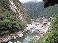 Urubamba River, Aguas Calientes, Peru.jpg