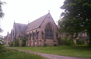 Ushaw College Church in Durham, UK
