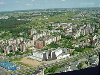 Vilnius TV Tower - View from Vilnius TV tower