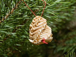 straw pine cone decoration by honza groh - How To Say Merry Christmas In Polish