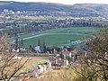 Výhled od chuchelského kostela, 155, závodiště Chuchle.jpg