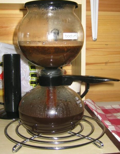 Alcohol Through Bleached Coffee Fileters